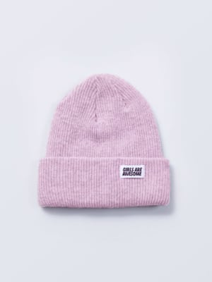 Girls are Awesome Beanie Rosa