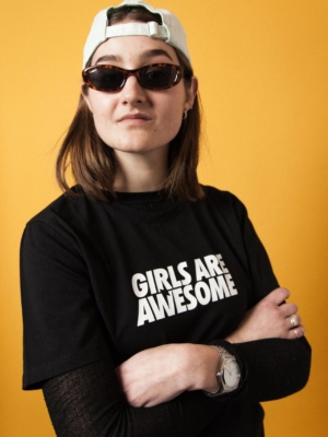 Girls are Awesome Logo T-Shirt 2