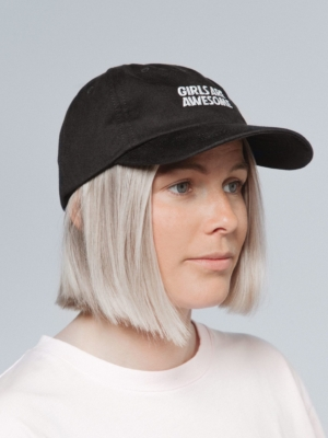 Girls are awesome cap