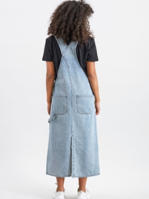 Dr.Denim Hanae Pinafore bib dress