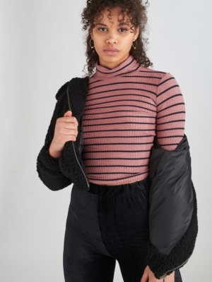 24 Colours turtleneck top