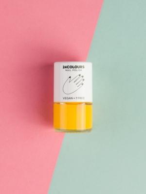 24 Colours Vegan nail polish SOUL FULL OF SUNSHINE yellow