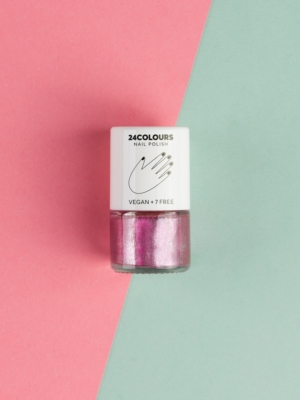 24 Colours Vegan nail polish YOU ARE LOVED pink