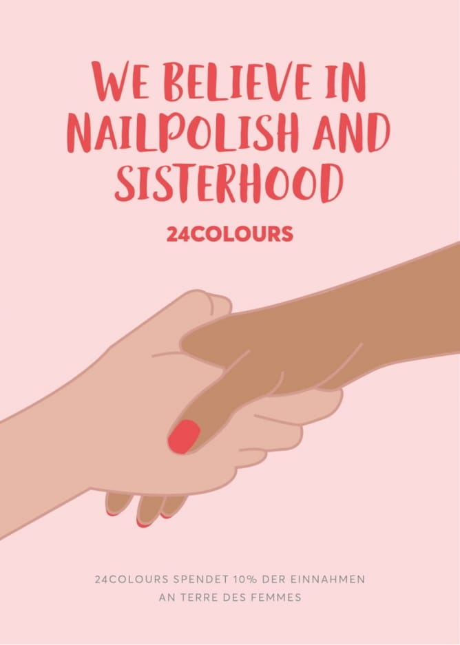 24 Colours Veganer Nagellack