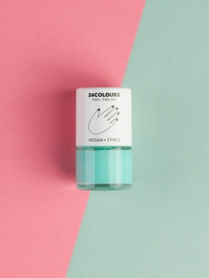 24 Colours Verganer Nagellack mint