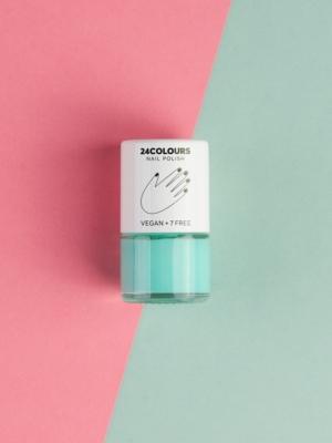 24 Colours Vergan nail polish mint