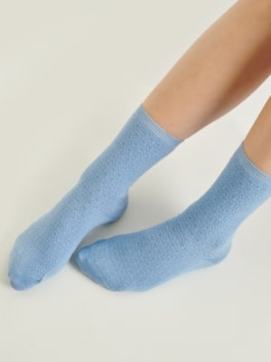 24 Colours socks light blue