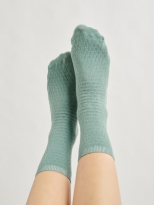 24 Colours socks green