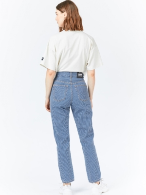 Dr.Denim Nora Mom Jeans gestreift