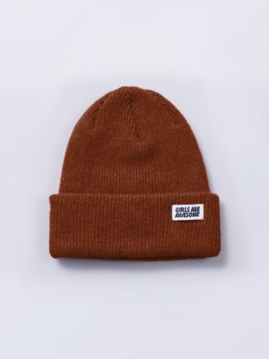 Girls are awesome beanies braun