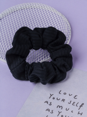 24 Colours Scrunchie black