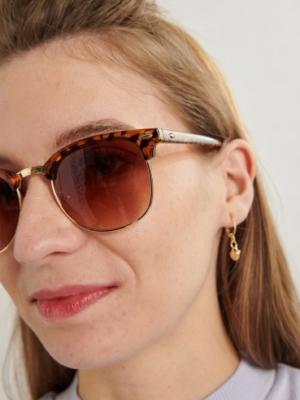 24 Colours Sunglasses Brown