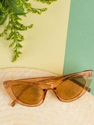 24 Colours Sunglasses brown