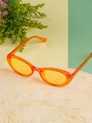 24 Colours orange Sunglasses