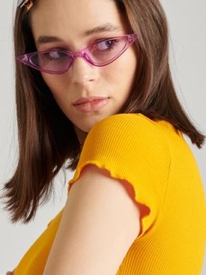 24 Colours Sonnenbrille Lila
