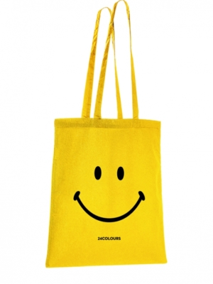 24-colours fabric bag smiley