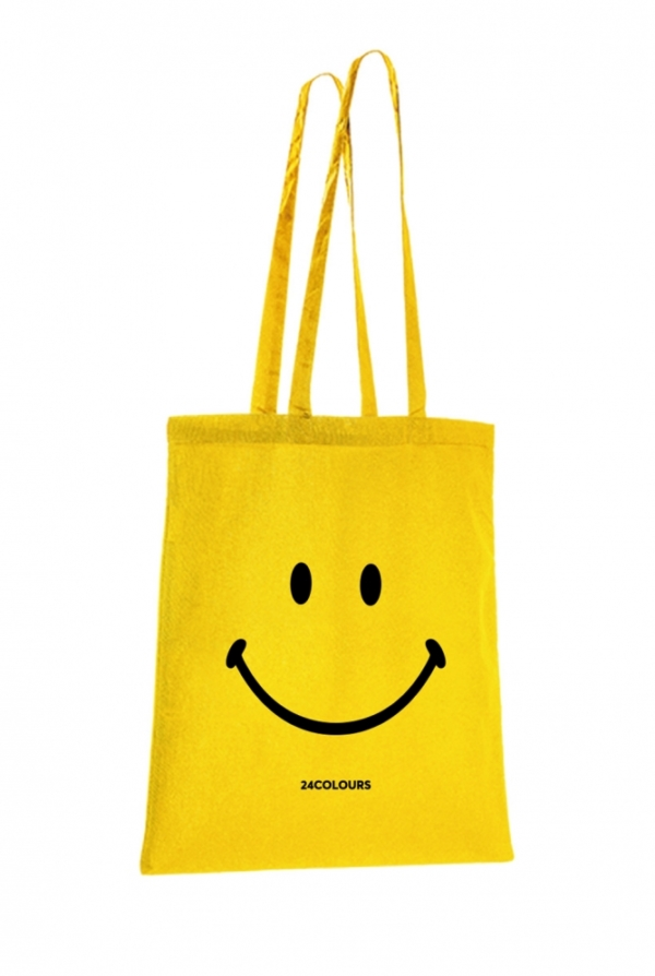 24-colours stofftasche smiley