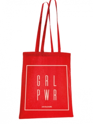 24 Colours shopping bag Girl Power