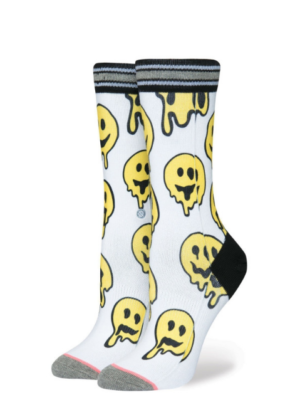 Stance Socks Outbreak Smiley