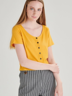 24 Colours Shirt yellow