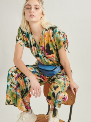 24 Colours Jumpsuit Patterned