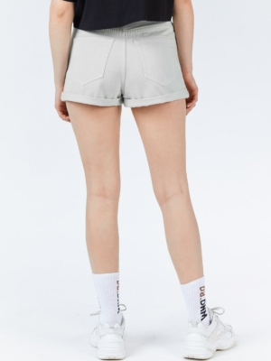 Dr Denim Short Jenn Grau