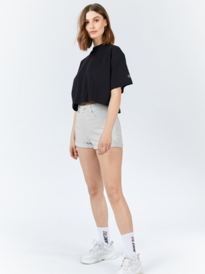 Dr. Denim Short Jenn Grau
