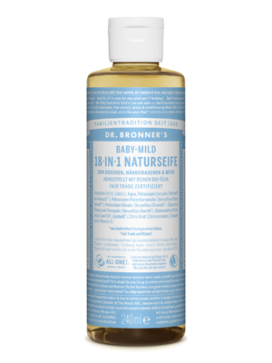 DR-Bronner-Natural Soap-Babymild-240ml