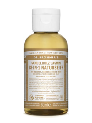 Dr. Bronner Liquid Soap Sandalwood Jasmine 60 ml