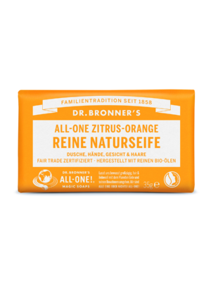 Dr-Bronners-Natural Soap-Soap-citrus-orange-140g
