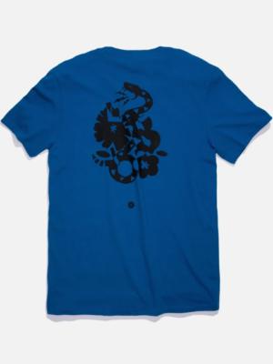 Stance T-Shirt Nest Blau