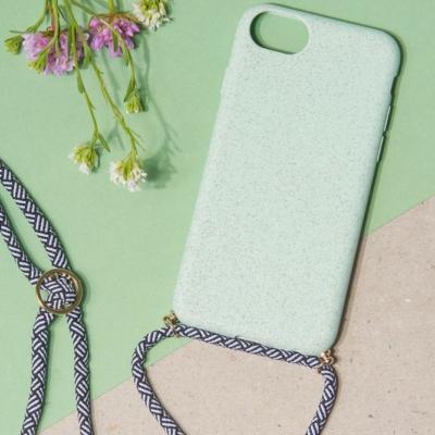 24 Colours Handykette Biologisch abbaubar mint iPhone 6/7/8