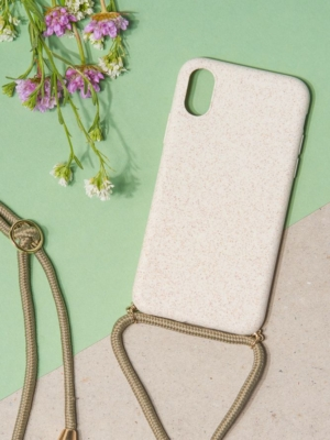 24 Colours mobile phone chain beige