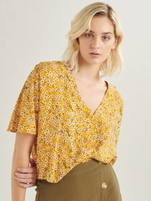24 Colours blouse with flowers