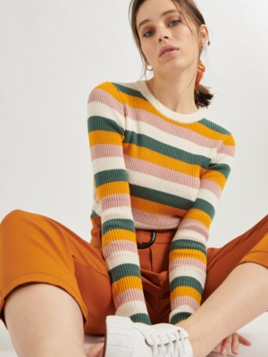 24 Colours Sweater Striped