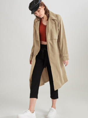 24 Colours trench coat beige