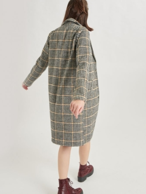 24 Colours Coat Checkered