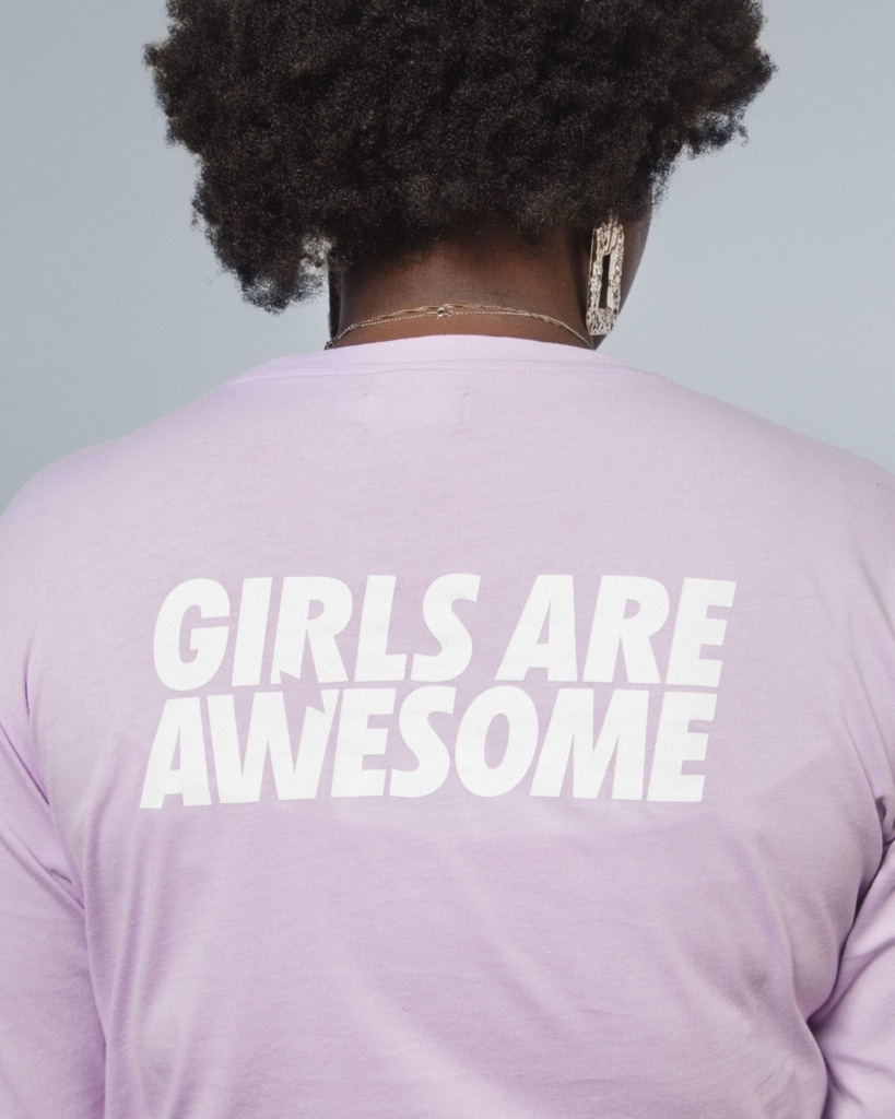 Girls are Awesome When in doubt Langarmshirt