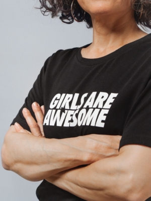 Girls are Awesome Logo T-Shirt