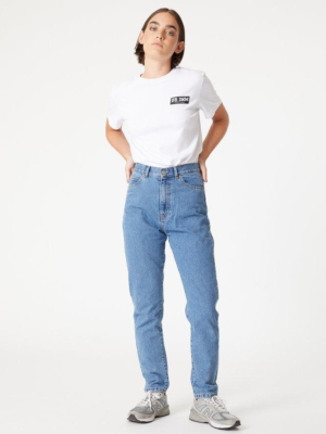 Nora Mom Jeans retro sky blue