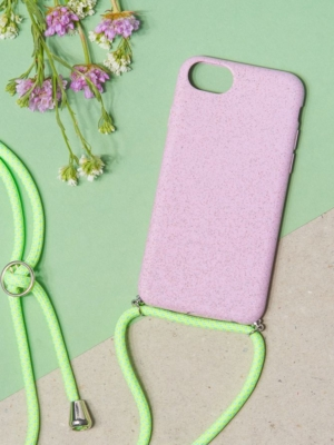 24 Colours Phone Chain Biodegradable Purple iPhone 6/7/8