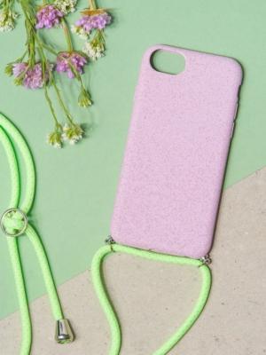 24 Colours Handykette Biologisch abbaubar lila iPhone 6/7/8