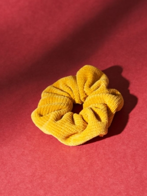 24 Colours Scrunchie yellow