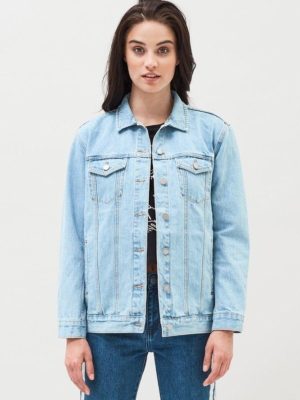 River Trucker denim jacket bla