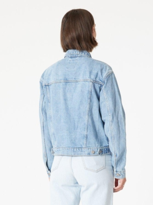 Dr.Denim Alva Trucker jean jacket light blue