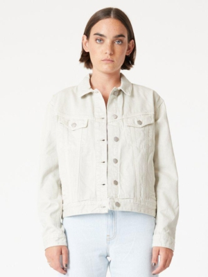 Dr.Denim Alva Trucker denim jacket washed pinfire