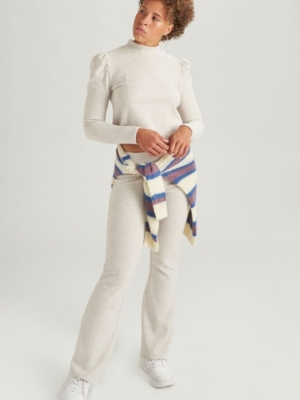 24 Colours flapping trousers beige
