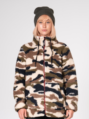 Nikita Fleece Pulli camo