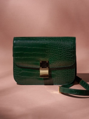 24 Colours shoulder bag green