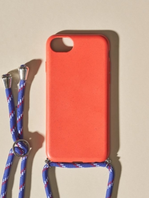 24 Colours Phone Chain Biodegradable Red iPhone 6/7/8